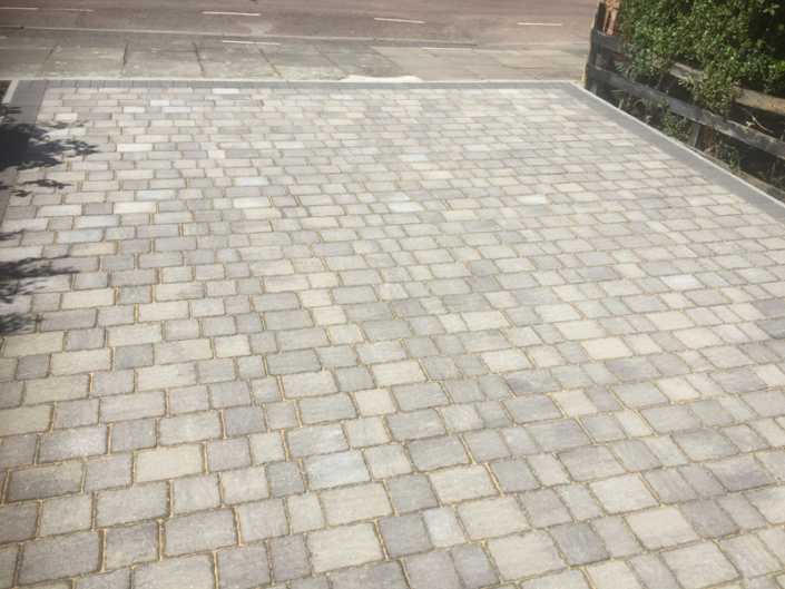 block paving driveway Addlestone